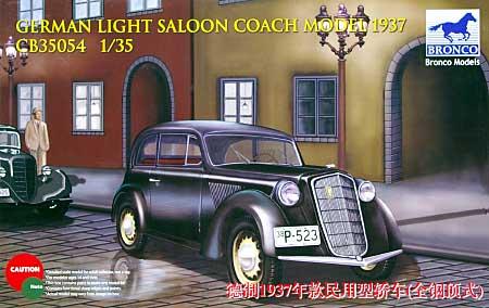 ドイツ 民間型 2ドア乗用車 ハードトップ 1937年プラモデル(ブロンコモデル1/35 AFVモデルNo.CB35054)商品画像
