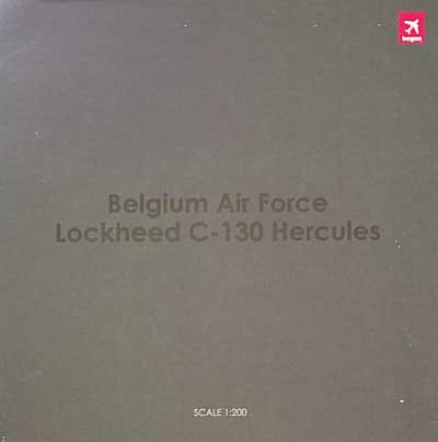 C-130 ハーキュリーズ ベルギー空軍 第20飛行隊 創設20周年 記念塗装機完成品(ホーガンウイングス1/200 完成品モデルNo.6412)商品画像