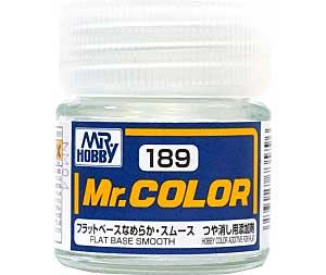 フラットベース なめらか・スムース (つや消し添加剤) (C-189)塗料(GSIクレオスMr.カラーNo.C-189)商品画像