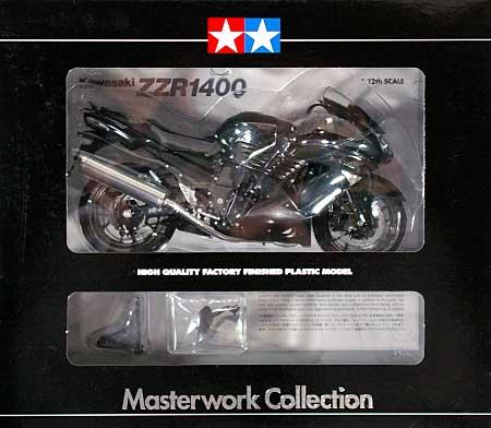カワサキ ZZR1400 パールメテオグレイ (完成品)完成品(タミヤマスターワーク コレクションNo.21082)商品画像