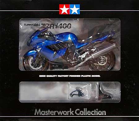 カワサキ ZZR1400 キャンディサンダーブルー (完成品)完成品(タミヤマスターワーク コレクションNo.21083)商品画像