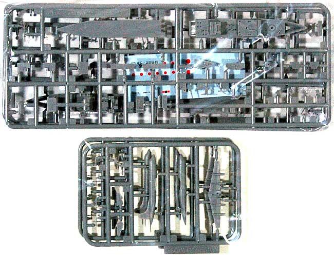 海上自衛隊 ミサイル艇 はやぶさ うみたかプラモデル(アオシマ1/700 ウォーターラインシリーズNo.016)商品画像_1