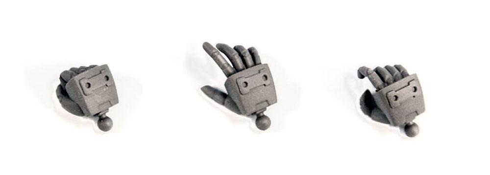 丸指ハンド Aプラモデル(コトブキヤM.S.G モデリングサポートグッズ ハンドユニットNo.MB032R)商品画像_2