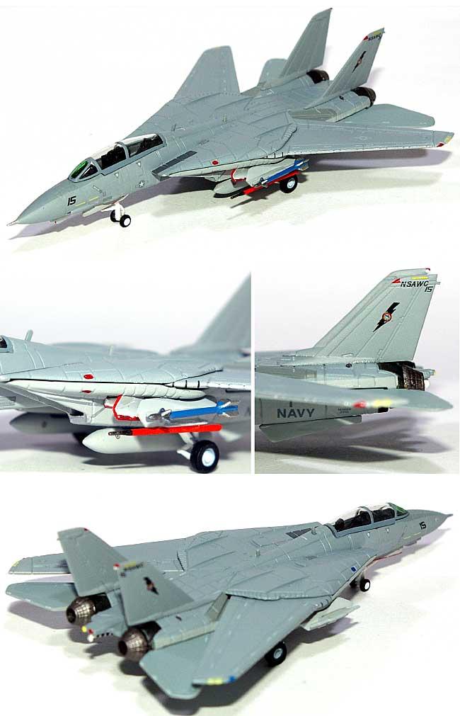 F-14A トムキャット アメリカ海軍 NSAWC アドバーザリーキャッツ完成品(ホーガンウイングスM-SERIESNo.6566)商品画像_1