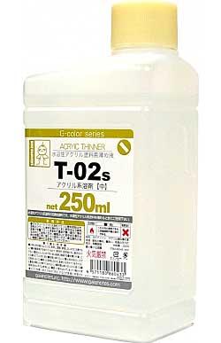 T-002s アクリル系溶剤 中 (250ml)溶剤(ガイアノーツG-color 溶剤シリーズ (T-02 アクリル系溶剤)No.T-002s)商品画像