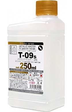 メタリックマスター (中) (250ml)溶剤(ガイアノーツG-color 溶剤シリーズ (T-09 メタリックマスター)No.T-009s)商品画像