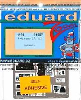 エデュアルド1/32 エアクラフト用 カラーエッチング ズーム (33-×)F-4E ファントム 2 用 エッチングパーツ (接着剤付)