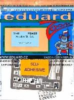 エデュアルド1/48 エアクラフト カラーエッチング ズーム (FE-×)エアラコブラ Mk.1 用 エッチングパーツ (接着剤付)