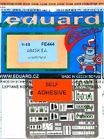 エデュアルド1/48 エアクラフト カラーエッチング ズーム (FE-×)零式練習戦闘機 11型 用 エッチングパーツ (接着剤付)