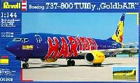 レベル1/144 旅客機ボーイング B737-800 TUIfly GoldbAIR