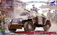 ブロンコモデル1/35 AFVモデルドイツ Sd.kfz.221 軽偵察装甲車初期型・中国陸軍