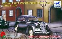 ブロンコモデル1/35 AFVモデルドイツ 民間型 2ドア乗用車 ハードトップ 1937年