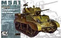 M5A1 軽戦車 後期型