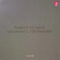 ホーガンウイングス1/200 完成品モデルC-130 ハーキュリーズ ベルギー空軍 第20飛行隊 創設20周年 記念塗装機