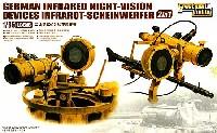 ドイツ 赤外線暗視観測装置セット (2 in 1)