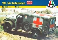 イタレリ1/35 ミリタリーシリーズダッジ WC54 野戦救急車