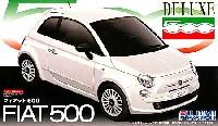 フジミ1/24 リアルスポーツカー シリーズ (SPOT)フィアット 500 DX (エッチングパーツ付)
