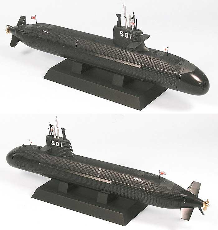 海上自衛隊 潜水艦 SS-501 そうりゅうプラモデル(ピットロード1/350 スカイウェーブ JB シリーズNo.JB004)商品画像_2