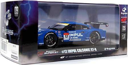 #12 IMPUL CALSONIC GT-R 2009ミニカー(BugzeesSUPER GT 2009 シリーズNo.BB516B)商品画像