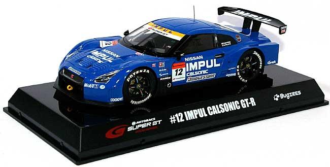 #12 IMPUL CALSONIC GT-R 2009ミニカー(BugzeesSUPER GT 2009 シリーズNo.BB516B)商品画像_1