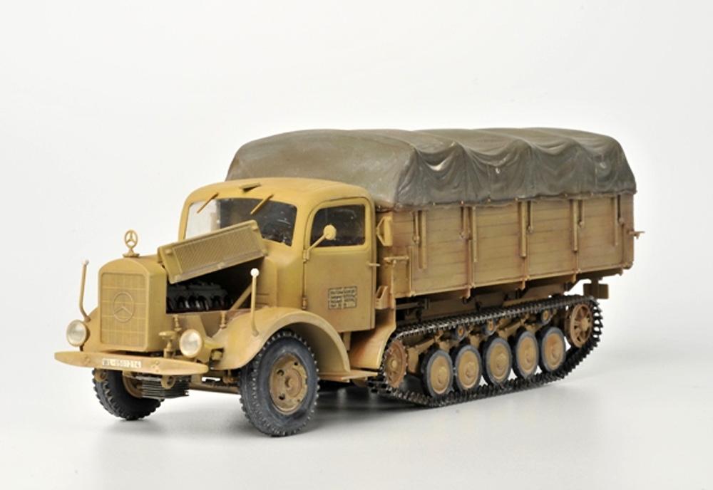 ドイツ ハーフトラック L4500R マウルティアプラモデル(ズベズダ1/35 ミリタリーNo.3603)商品画像_2