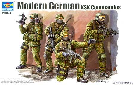 ドイツ連邦軍 特殊部隊 KSKプラモデル(トランペッター1/35 AFVシリーズNo.00422)商品画像
