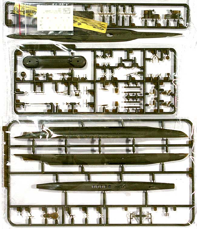 ドイツ海軍 潜水艦 Uボート タイプ 7Dプラモデル(AFV CLUB1/350 潜水艦No.SE73505)商品画像_1