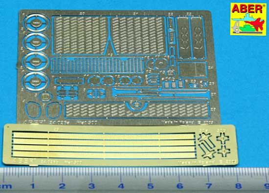 フィアット 500 アップグレードセット (フジミ対応)エッチング(アベール1/24 自動車用 エッチングパーツNo.24026)商品画像_1
