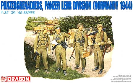 ドイツ 装甲擲弾兵 戦車教導師団 (ノルマンディ 1944)プラモデル(ドラゴン1/35 39-45 SeriesNo.6111)商品画像
