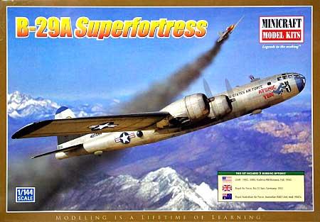 B-29A スーパーフォートレスプラモデル(ミニクラフト1/144 軍用機プラスチックモデルキットNo.14609)商品画像