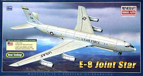 E-8 ジョイントスターズプラモデル(ミニクラフト1/144 軍用機プラスチックモデルキットNo.14613)商品画像