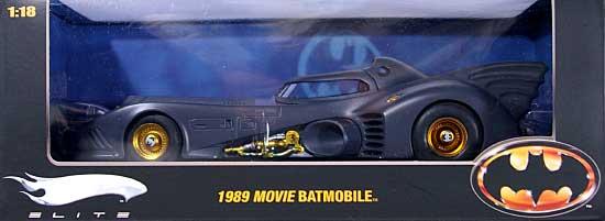 1989 バットモービル MOVIEシリーズ (マットブラック/ゴールド) エリートミニカー(マテルマテル エリートNo.R1794)商品画像