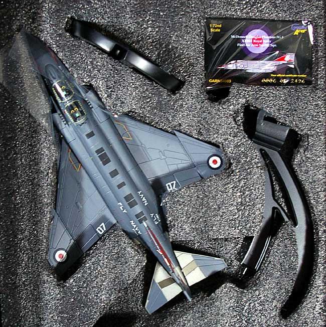 F-4K (ファントム FG.1) イギリス海軍 892SQ 007完成品(ジェミニ ジェット1/72 ジェミニ エース シリーズNo.GARNS4003)商品画像_1