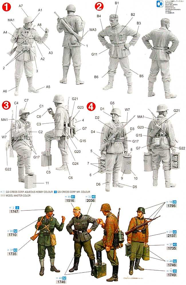 枢軸国兵士 バルカン 1943プラモデル(ドラゴン1/35 '39-'45 SeriesNo.6563)商品画像_1