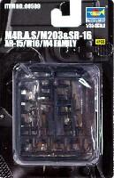 M4 R.A.S/M203 & SR-16 AR-15/M16/M4ファミリー