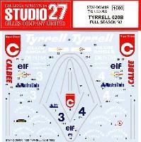 ティレル 020B フルシーズン 1992