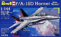 レベル1/144 飛行機F/A-18D ホーネット ワイルド ヴィーゼル