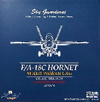 ウイッティ・ウイングス1/72 スカイ ガーディアン シリーズ (現用機)F/A-18C ホーネット VFA-131 ワイルドキャッツ CAG