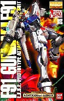 バンダイMG (マスターグレード)F91 ガンダム F91 (スペシャルクリア外装パーツ付)