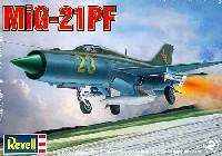 レベル1/48 飛行機モデルMiG-21PF