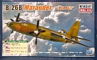 ミニクラフト1/144 軍用機プラスチックモデルキットB-26B マローダー FLAK BAIT