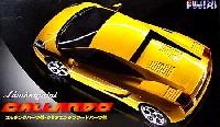 フジミ1/24 リアルスポーツカー シリーズ (SPOT)ランボルギーニ ガヤルド エッチングパーツ付 / クリアエンジンフードパーツ付