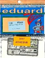エデュアルド1/48 エアクラフト カラーエッチング ズーム (FE-×)A6M3 零式艦上戦闘機 32型用 計器盤・シートベルト エッチングパーツ (接着剤付)
