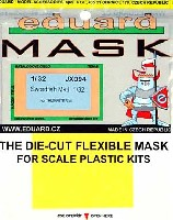 エデュアルド1/32 エアクラフト用 エデュアルド マスク (JX-×)ソードフィッシュ Mk.1用 マスキングシート