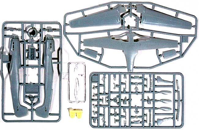 フォッケウルフ Ta152H-1 高高度迎撃機プラモデル(ART MODEL1/72 エアクラフト プラモデルNo.AM7204)商品画像_2