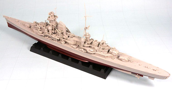 ドイツ海軍 重巡洋艦 プリンツ・オイゲン 1942年プラモデル(ピットロード1/700 スカイウェーブ W シリーズNo.W126)商品画像_3