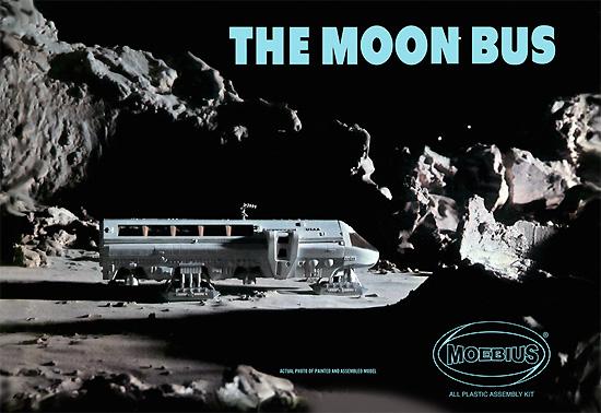ザ・ムーンバスプラモデル(メビウススペース ビークルNo.2001-1)商品画像