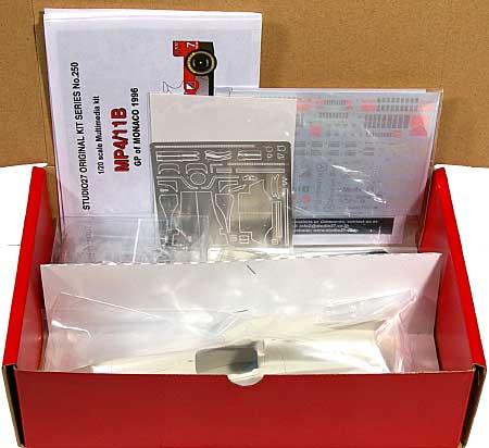 マクラーレン MP4/11B モナコGP 1996レジン(スタジオ27F-1 オリジナルキット (スタンダードシリーズ)No.FK20250)商品画像