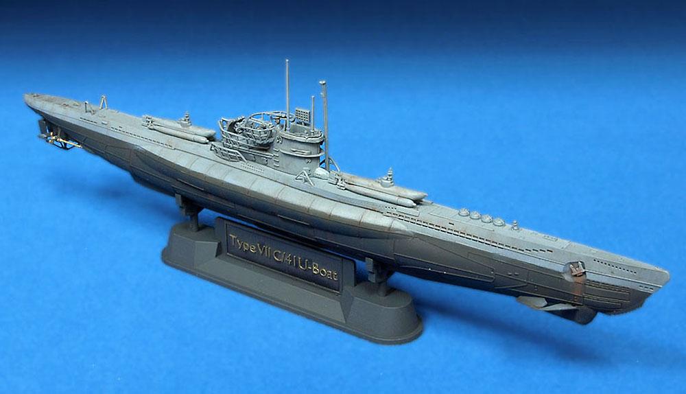 ドイツ海軍 潜水艦 Uボート タイプ 7C/41プラモデル(AFV CLUB1/350 潜水艦No.SE73504)商品画像_2