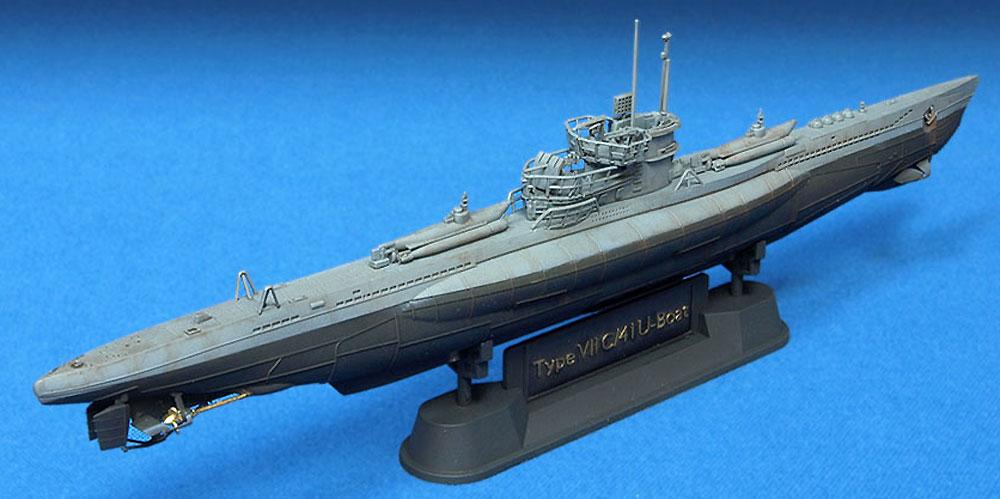 ドイツ海軍 潜水艦 Uボート タイプ 7C/41プラモデル(AFV CLUB1/350 潜水艦No.SE73504)商品画像_4